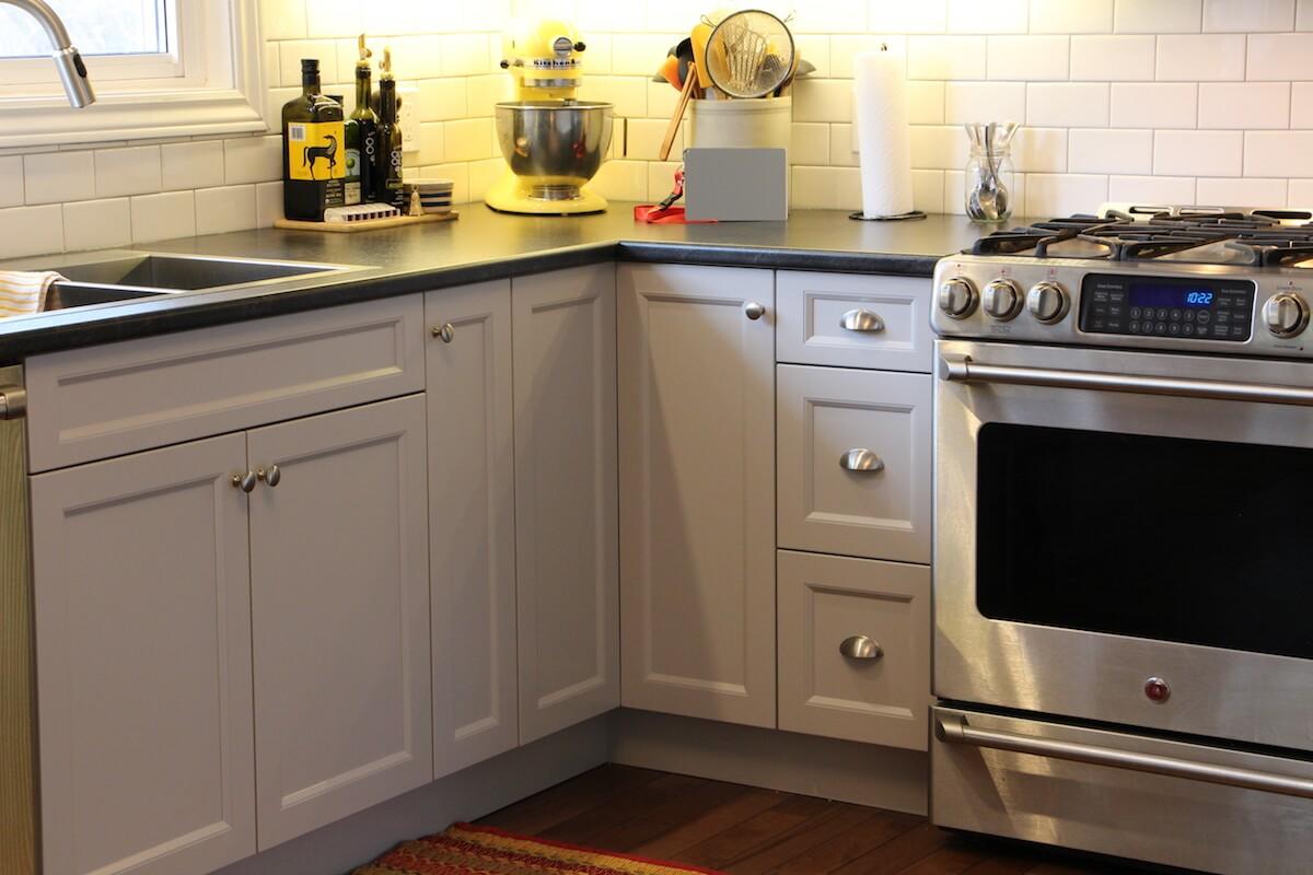 Bayridge Light Grey Transitional Progressive Kitchens